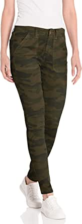 Daily Ritual Amazon Brand Women's Stretch Twill High-Rise Utility Pant