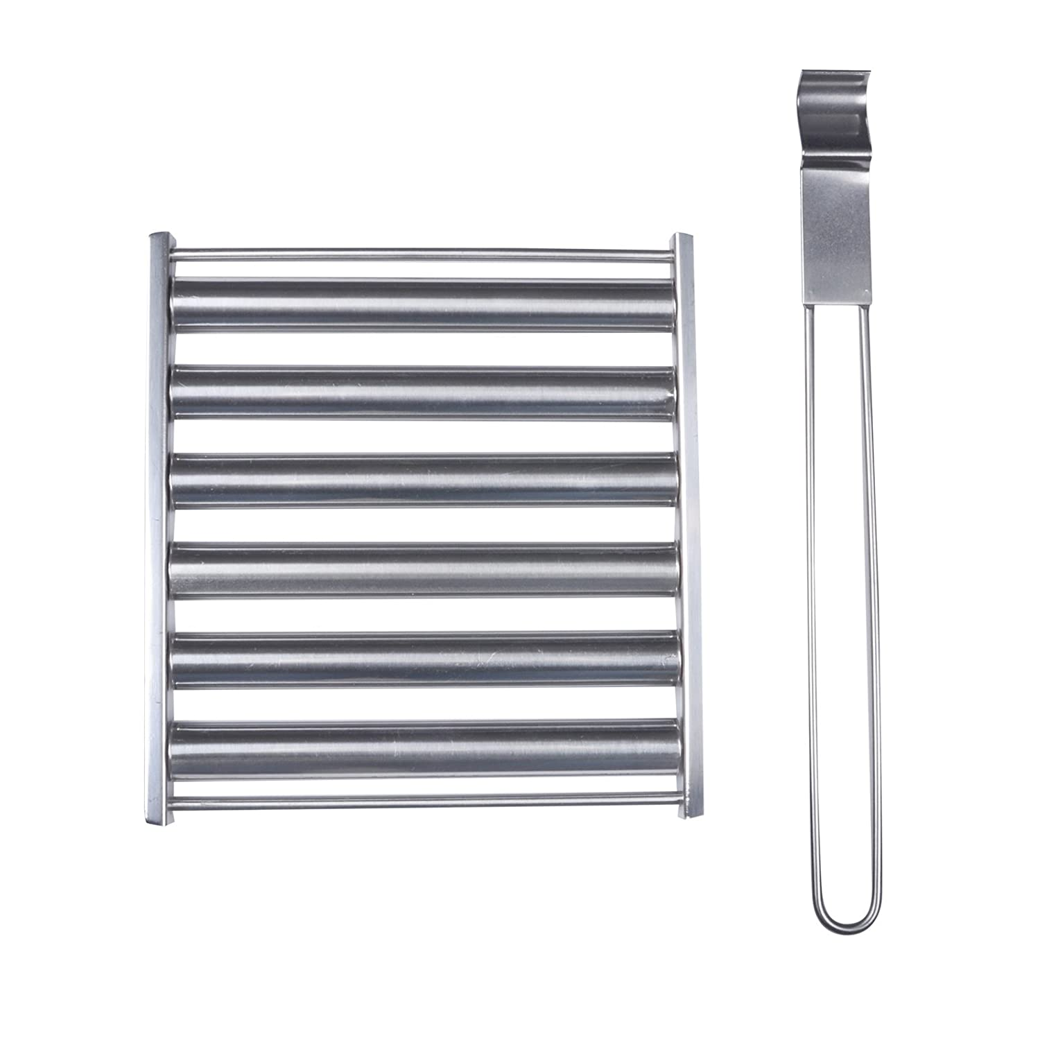 Azuma Barbecue Sausage Roller Turner Stainless Steel Tool Accessory Grill BBQ XS-Stock.com Ltd
