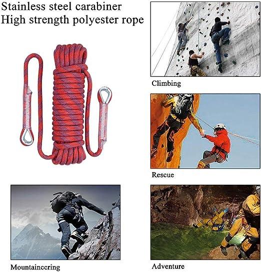 Cuerda de Escalada Estática, Cuerda de Escalada de 10mm ...