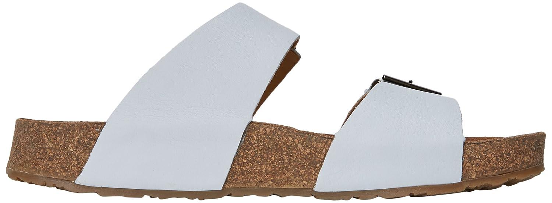 Haflinger Andrea Unisex-Erwachsene Pantoletten Pantoletten Unisex-Erwachsene Weiß (Weiß) 43a0d4