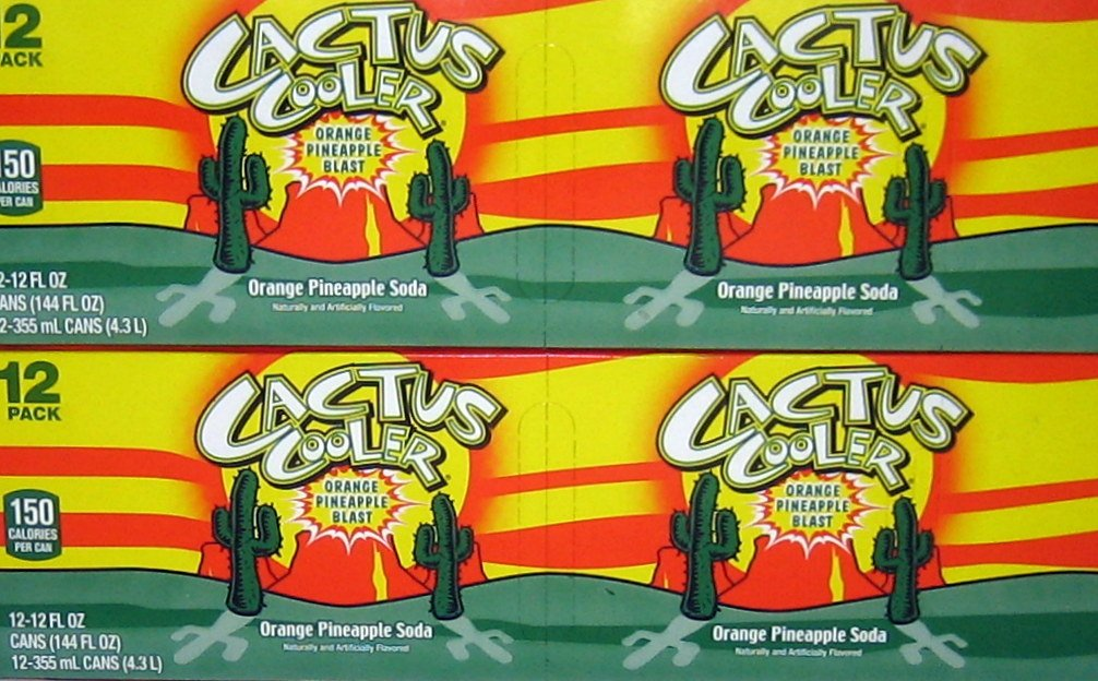7-UP Cactus Cooler Soft Drink, 12-Ounce (Pack of 24)