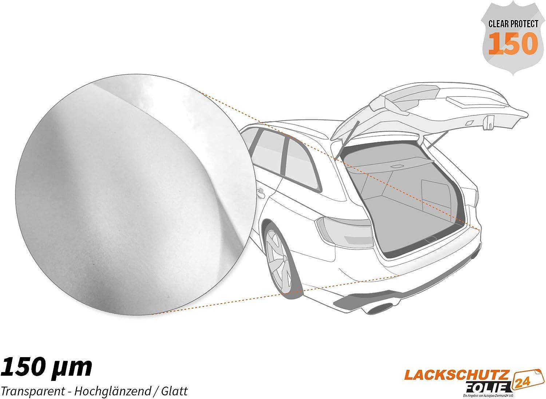 VW Arteon ab BJ 06//2017 ✓ Hochtransparent-Gl/änzend//Glatt ✓ St/ärke 150 /µm Ladekantenschutz Folie 0,15mm Ladekantenschutzfolie /› passgenau f/ür