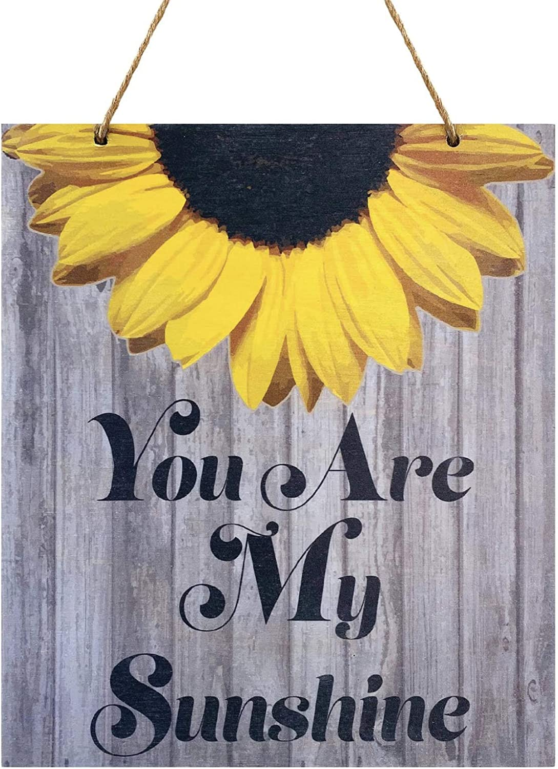 JennyGems   You Are My Sunshine Decor   Sunflower Decor   Real Wood Sign   Made in USA