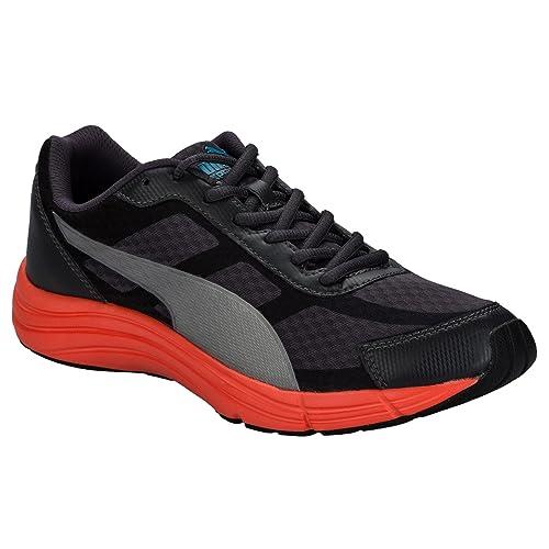 Puma - Zapatillas de Tela para hombre negro gris oscuro: Puma: Amazon.es: Zapatos y complementos