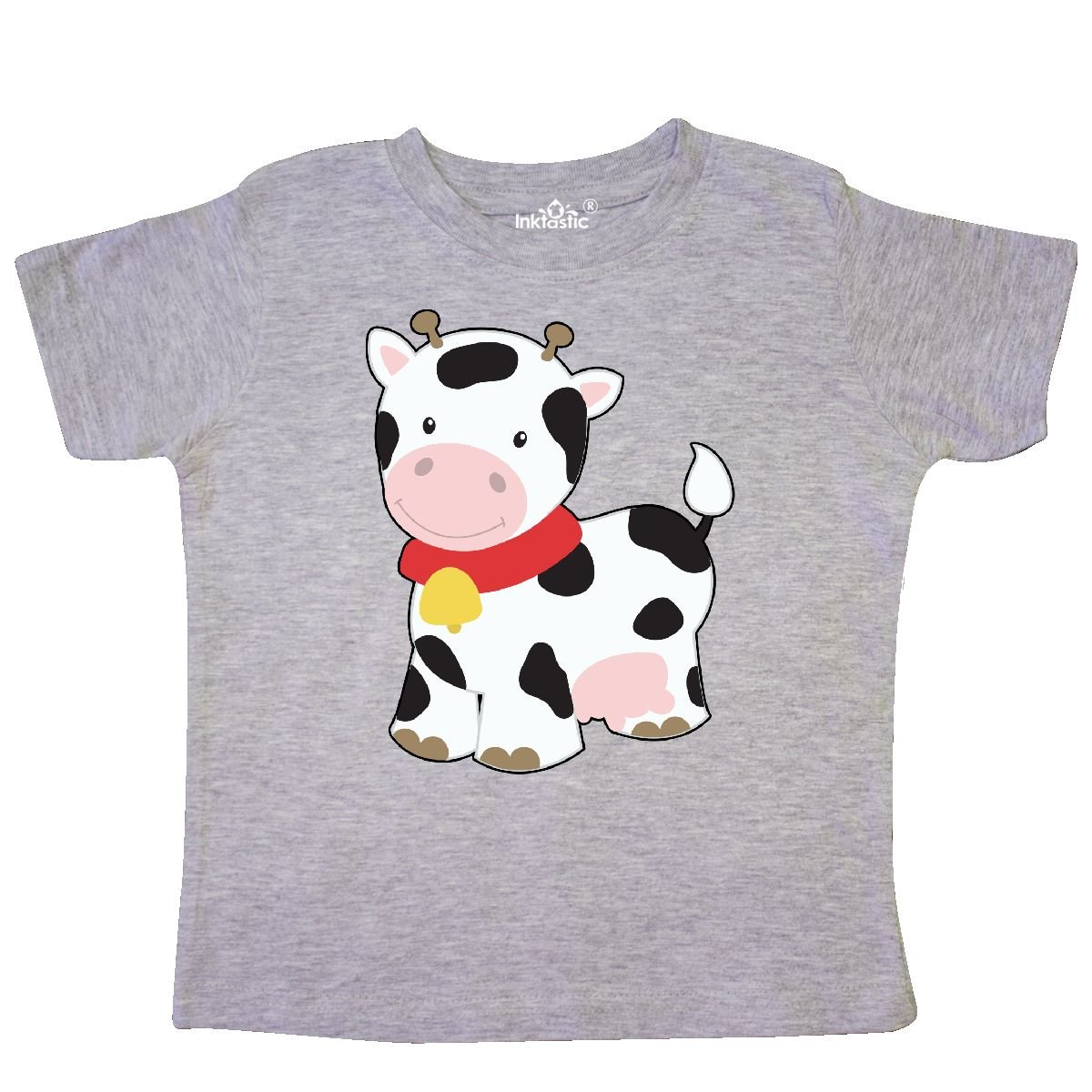 inktastic Cow Toddler T-Shirt