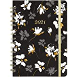 "2021 Planner - Weekly & Monthly Planner, 6.4"" x 8.5"", January 2021 - December 2021, Flexible Hardcover with Strong…"