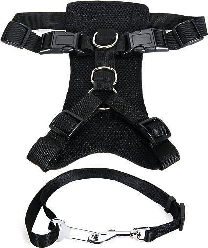 XCSOURCE® Arnés Perro Ajustable para Raza Grande + Cinturón ...