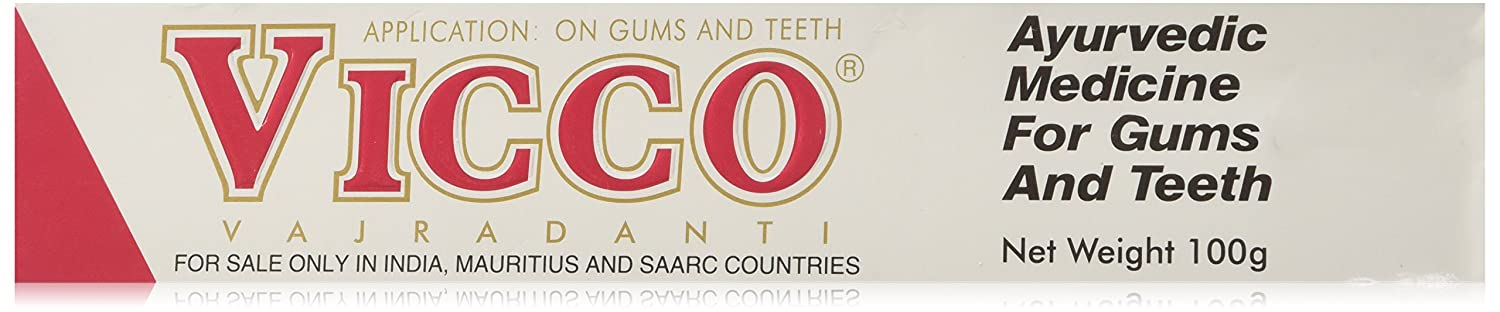 Vicco Vajradanti Ayurvedic Medicine For Gums Teeth 100g