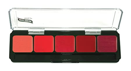 Graftobian HD Lip Palette, Red Lip Palette