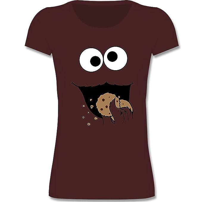 4772599dcc5b Karneval   Fasching Kinder - Keks-Monster - Mädchen T-Shirt ...