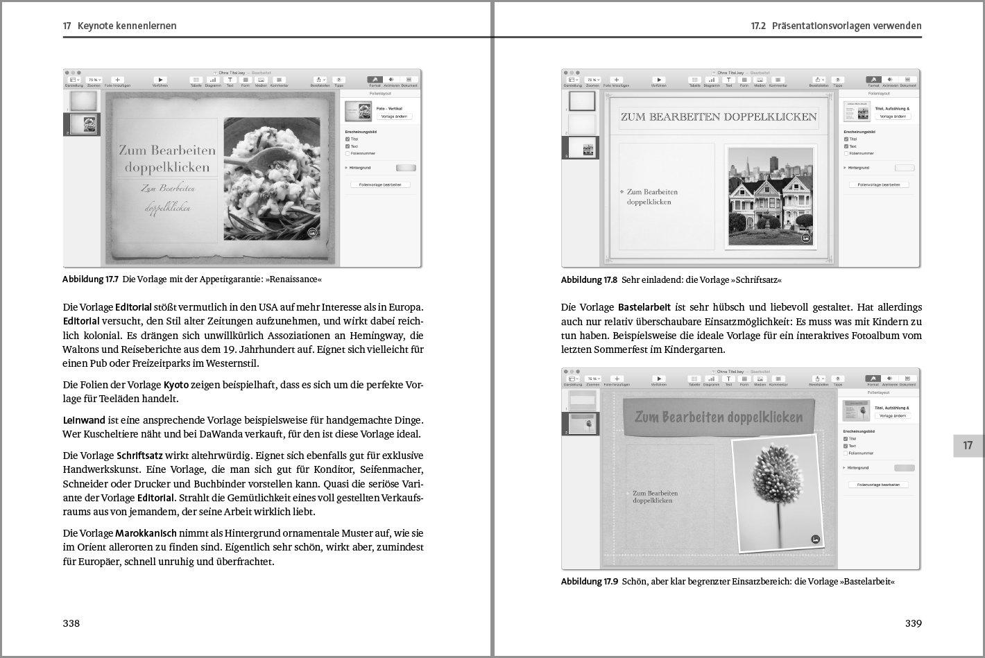 Pages, Numbers und Keynote: Das Handbuch zu den Office-Apps für Mac ...