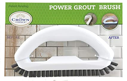 Amazon Com Grout Cleaner Brush With Stiff Angled Bristles Best
