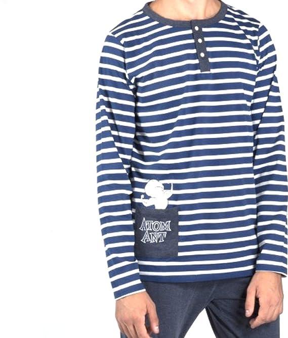 GISELA Pijama Hormiga ATÓMICA Hombre Marino (XL): Amazon.es: Ropa y accesorios