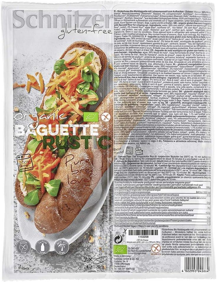Baguette ecológica SCHNITZER (320 gr)