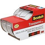 "3m 2157ss 3/4"" X 250"" Scotch® Transparent Tape 2 Count"