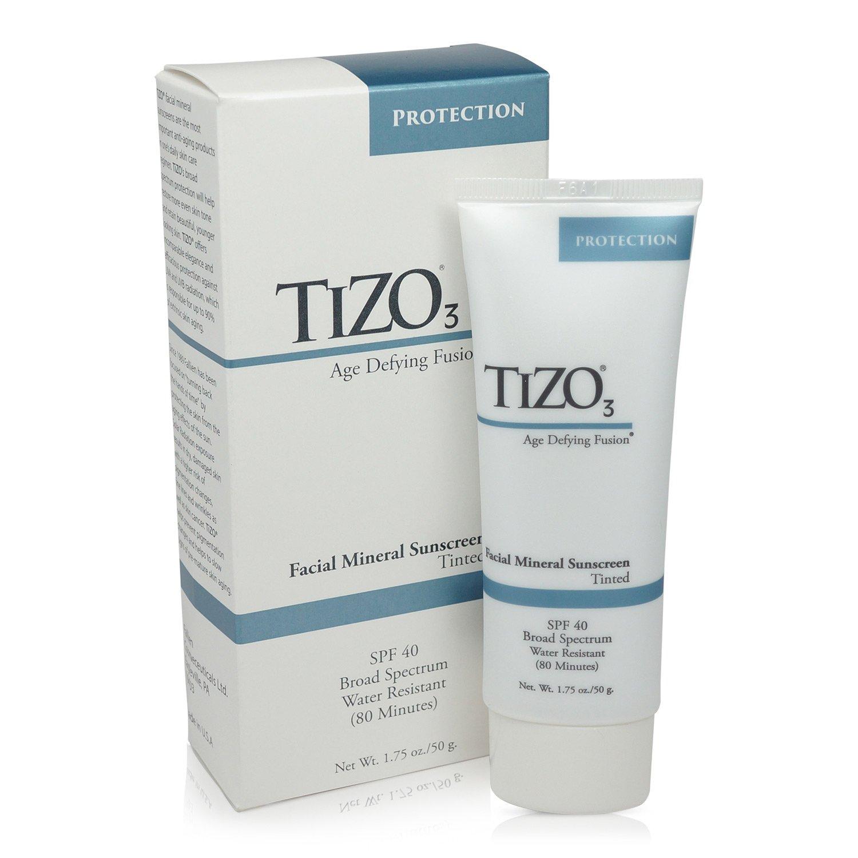 Tizo Solar Protection Formula, Facial Mineral Fusion SPF 40, 1.75 Ounce FATIZO3