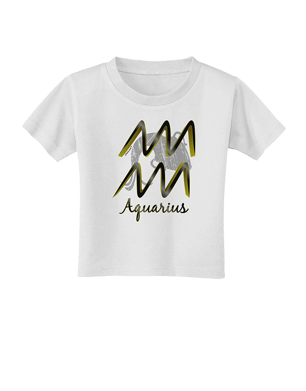 TooLoud Aquarius Symbol Toddler T-Shirt
