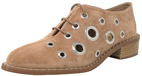 ALPE Team 3624 Zapatos con Cordones Camel, Botines Estilo Campero: Amazon.es: Zapatos y complementos