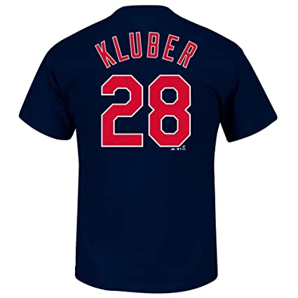 ba1139a7d01 Outerstuff Corey Kluber Cleveland Indians #28 Youth Player Name & Number  T-Shirt (