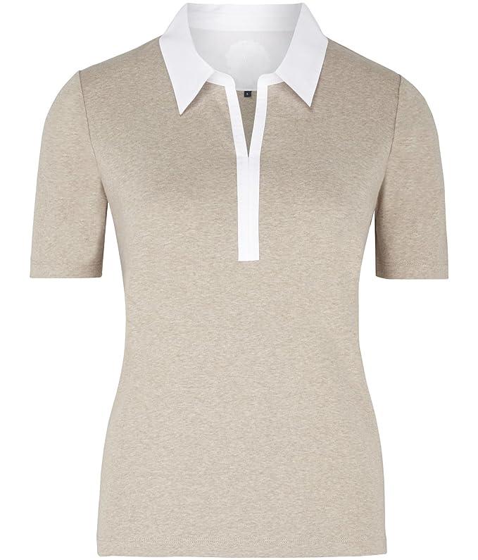 Viyella - Camiseta - Polo - Básico - Manga corta - para mujer ...