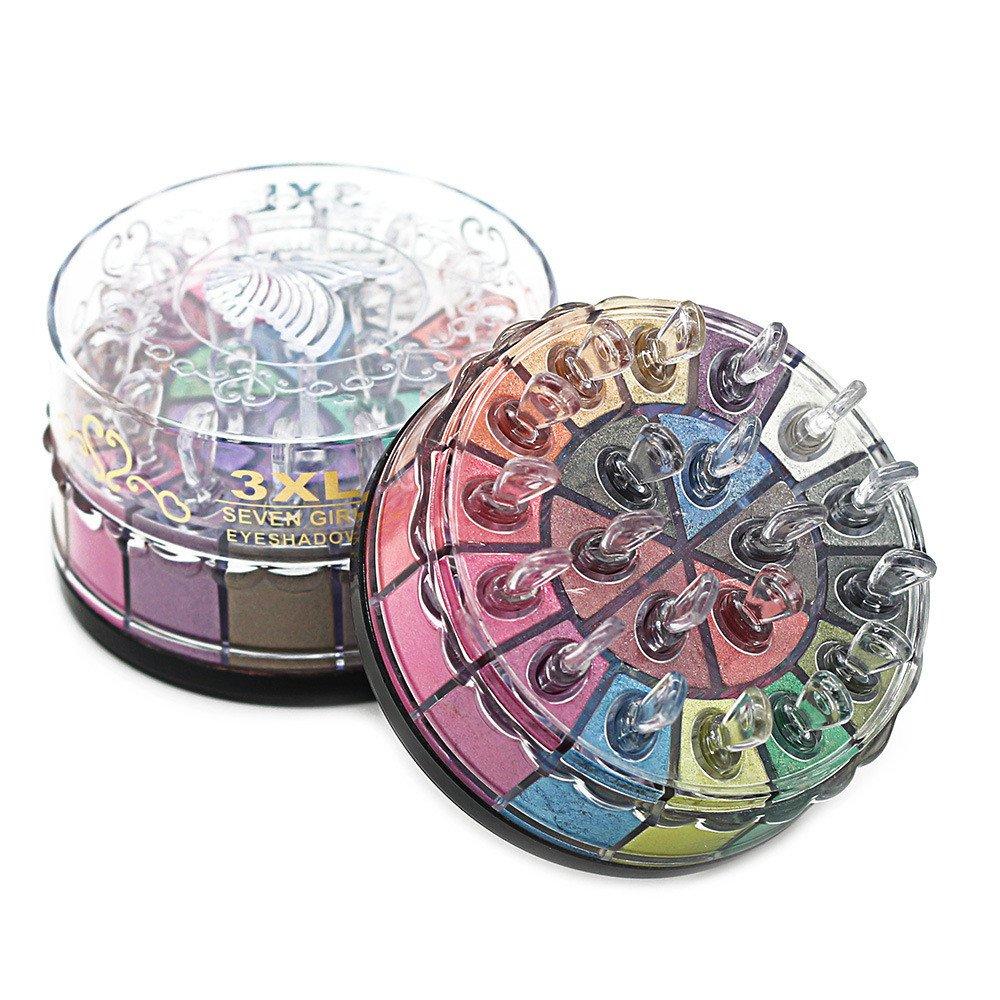 Keepfit 20 Colors Shimmer Glitter Eye Shadow Powder Palette Matte Eyeshadow (A)