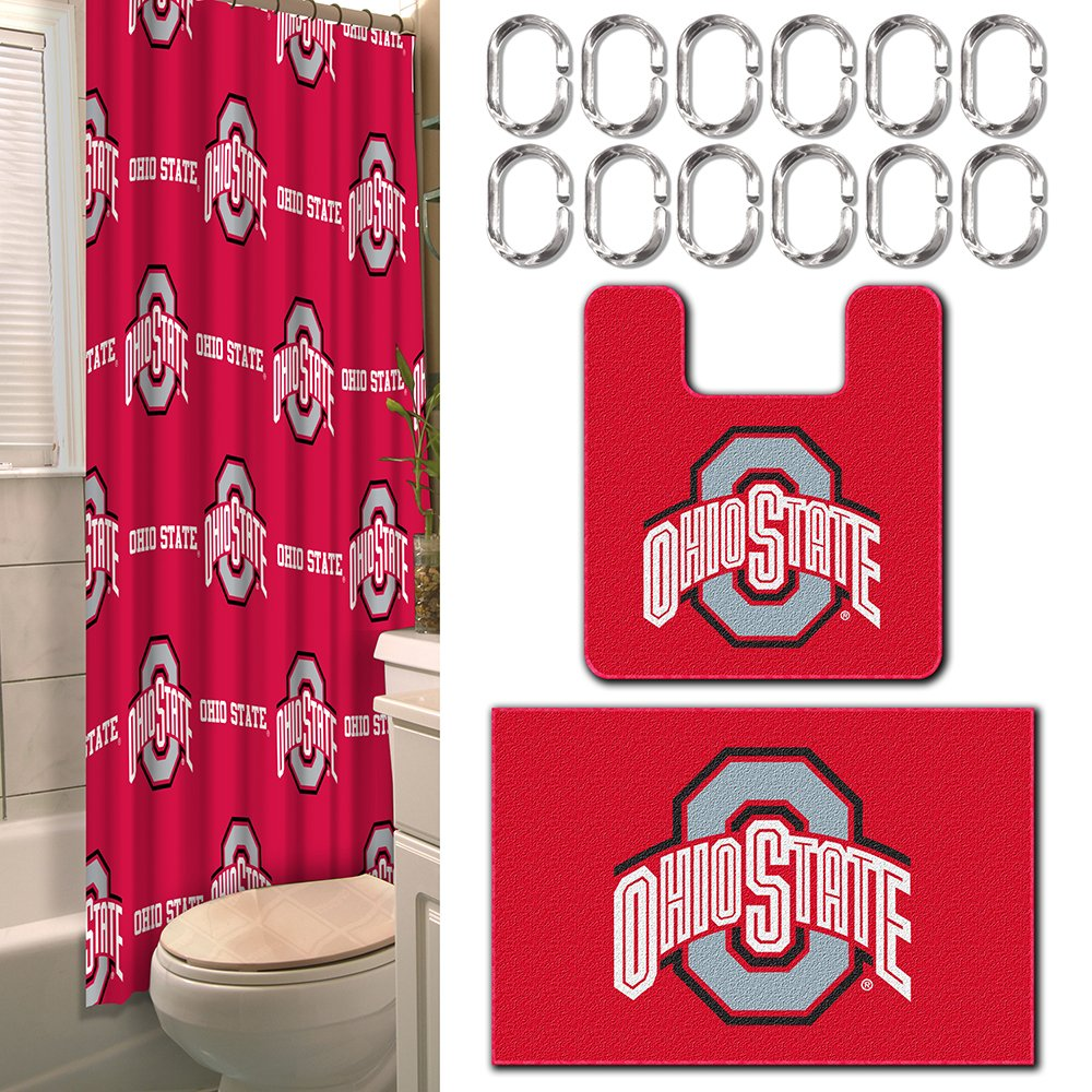 NCAA Michigan Wolverines 15 Piece Bathroom Set by The Northwest Company