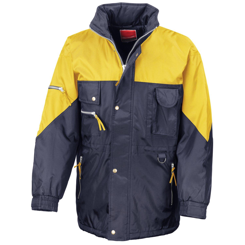 Result Hi-active jacket Navy/ Yellow XL