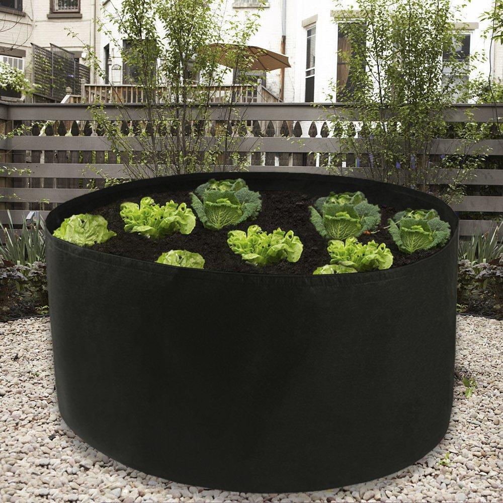 Salade Jardin Plantation de 150 litres Balcon Pot de Fleurs pour Maison Tomate Grand Sac de Culture pour l/égumes