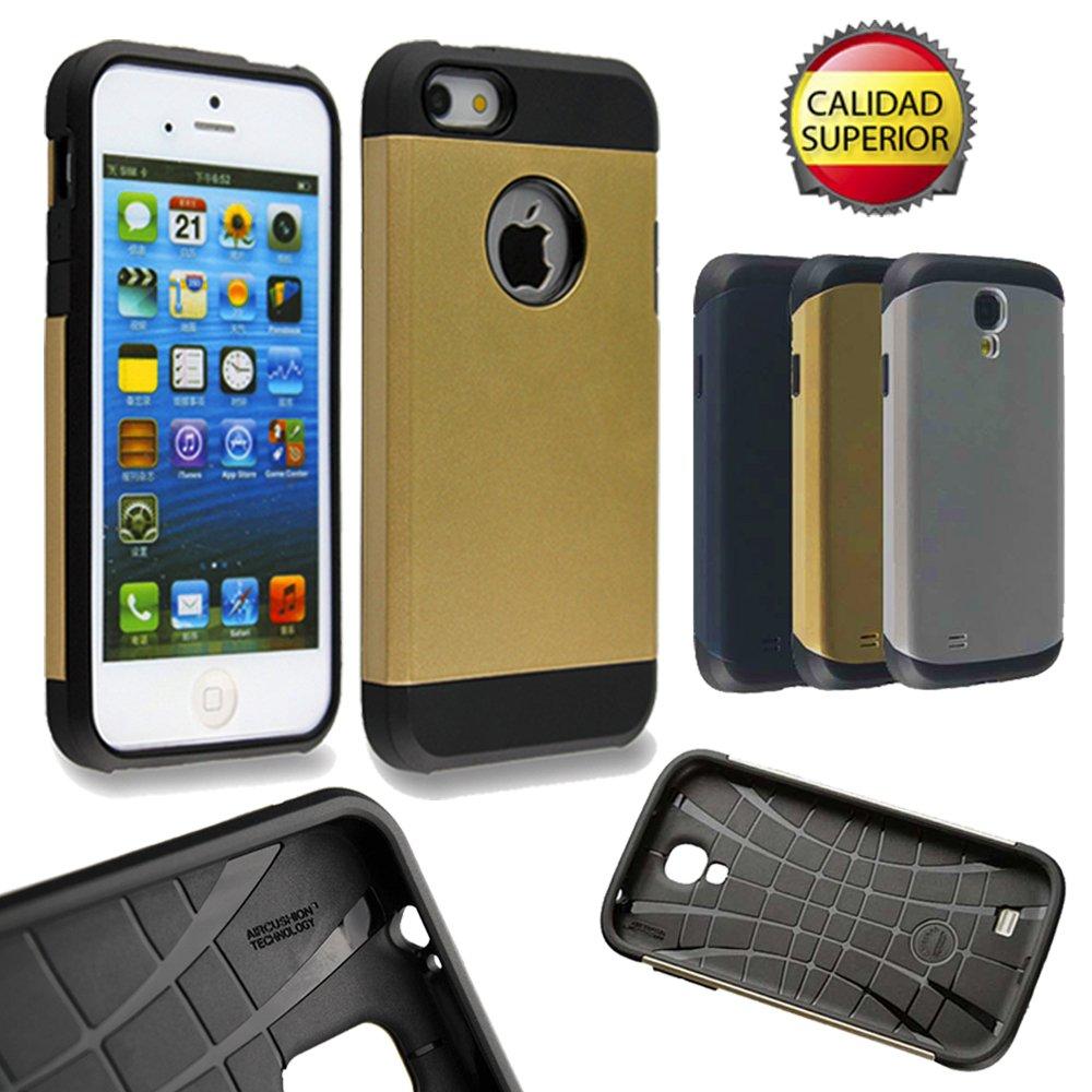a1be90a5a23 Carcasa Pizarra ALTA RESISTENCIA IPHONE 4/4s, Funda protectora, Armor,  Slate Case-AHORRATECH®: Amazon.es: Electrónica