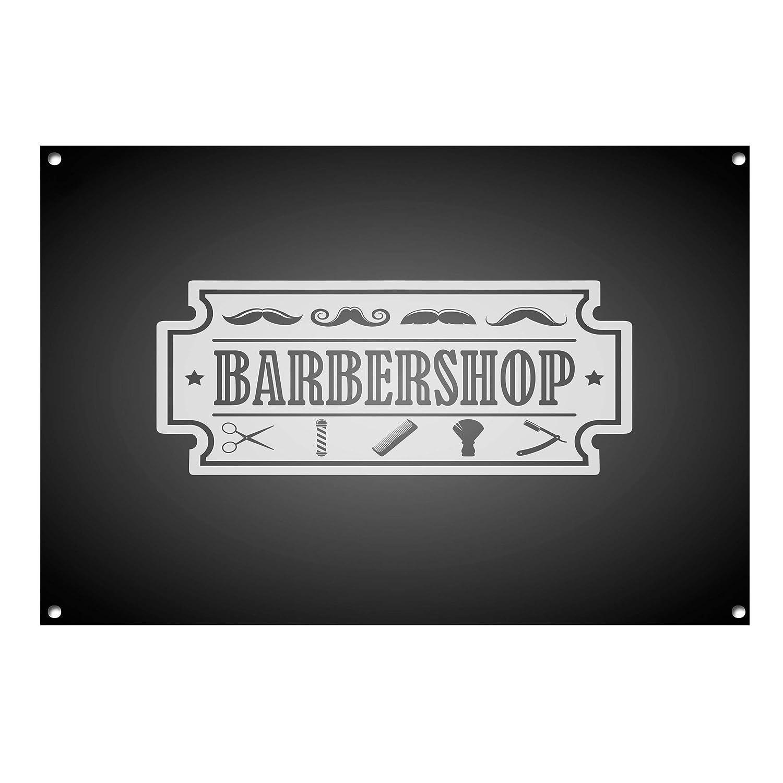 Unknow Cartel de Metal para barberos, barbería, Tienda ...