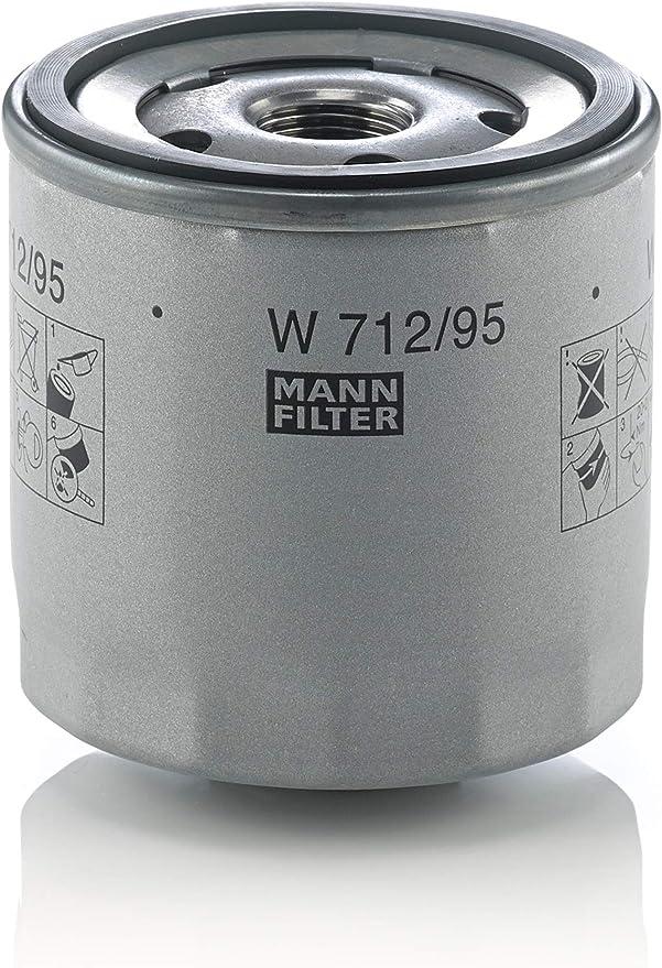 MANN-FILTER W 712/95 Original Filtro de Aceite, para automóviles: Amazon.es: Coche y moto