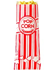 "Concession Essentials CE Popcorn Bags-500 Popcorn Bags, 1 oz. (Pack of 500), 2"" Height, 3"" Width, 8"" Length (Pack of 500)"