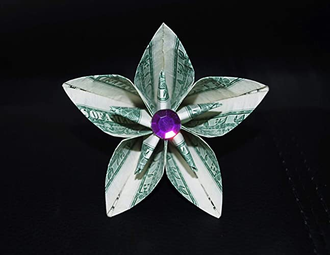 How to make a Rose from a 100 dollar bill. - YouTube | 500x647