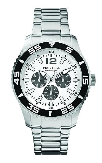 d5eeeac62f3b Náutica A15657G Reloj Análogo para Hombre