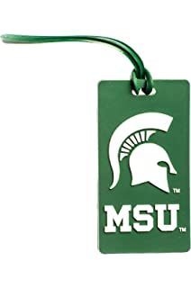 Collegiate Pulse Michigan State Spartans NCAA PVC Luggage TAG