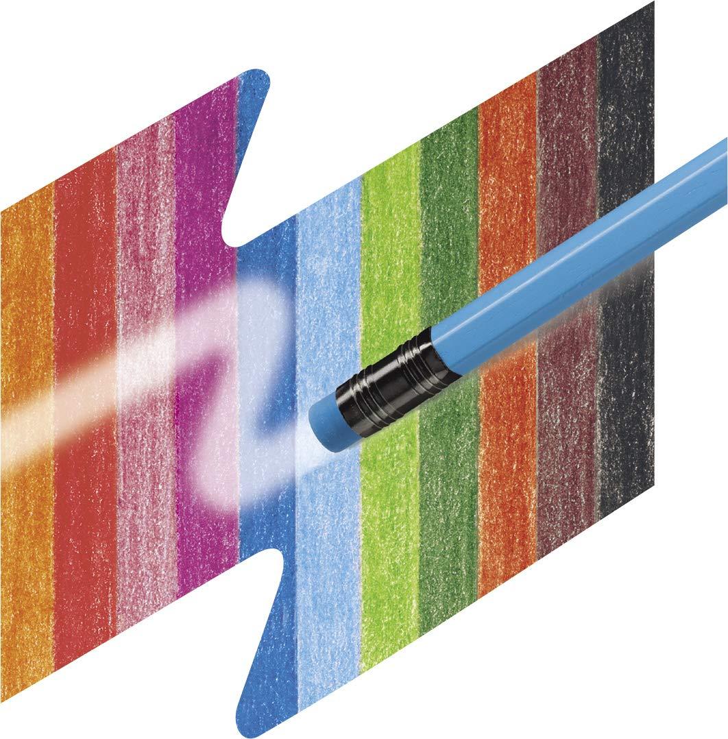 Lot de 24 Faber-Castell 116544 Crayons de couleur triangulaire