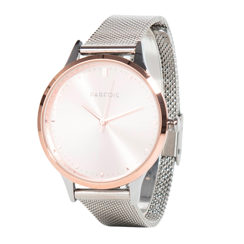 Parfois - Relojes Relojes Metal Plateado - Mujeres - Tallas Única - Plateado: Amazon.es: Relojes