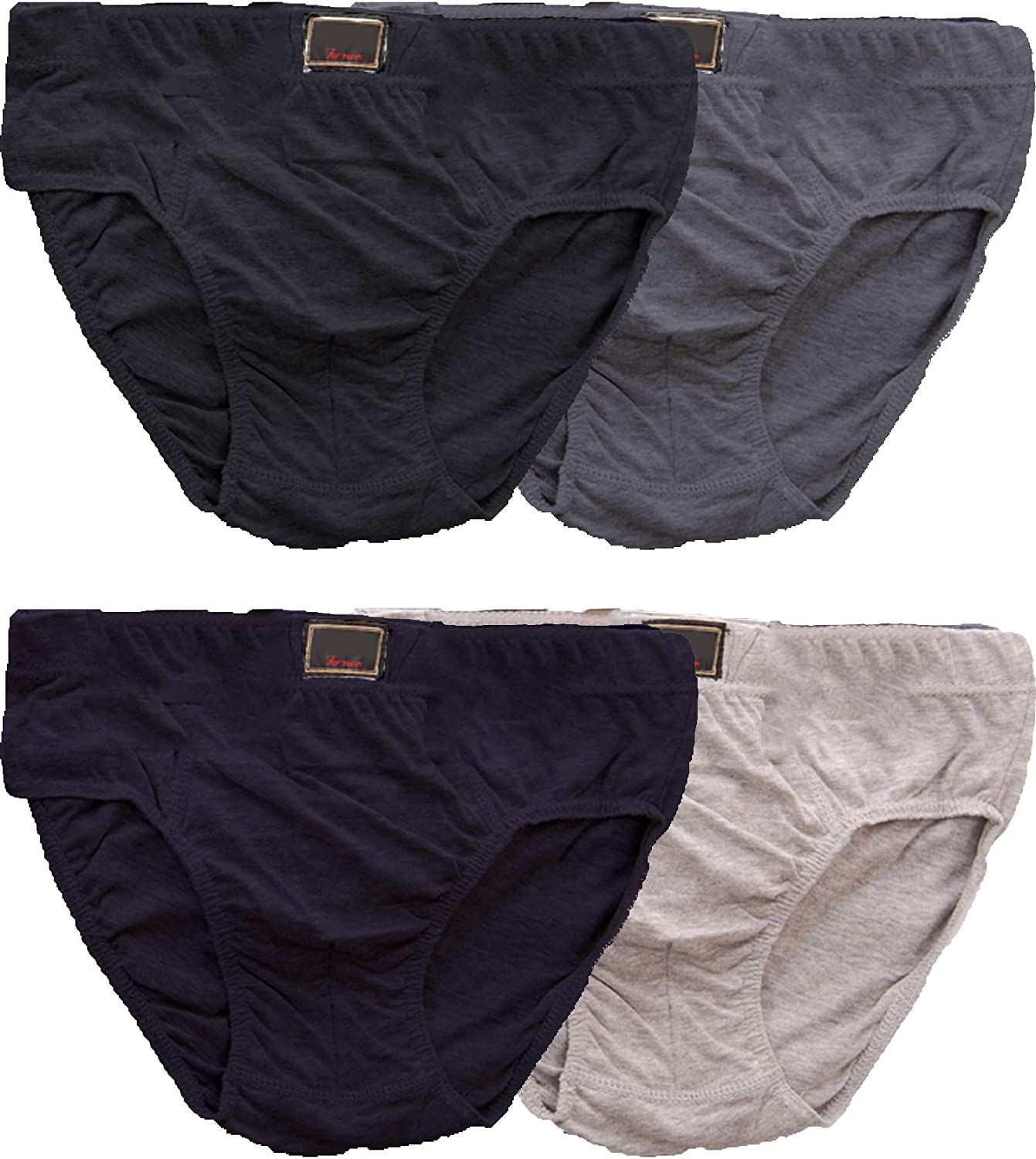 PACK OF 1 3 6 12 MENS BRIEFS SLIPS CLASSIC UNDERWEAR PANTS HIPSTER COTTON LOT