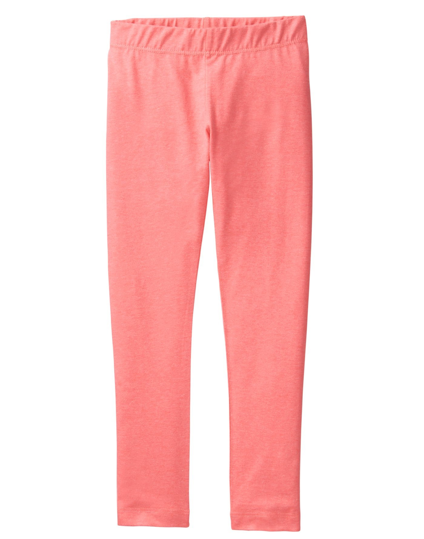 Crazy 8 Little Girls' Basic Legging, Coral, XS