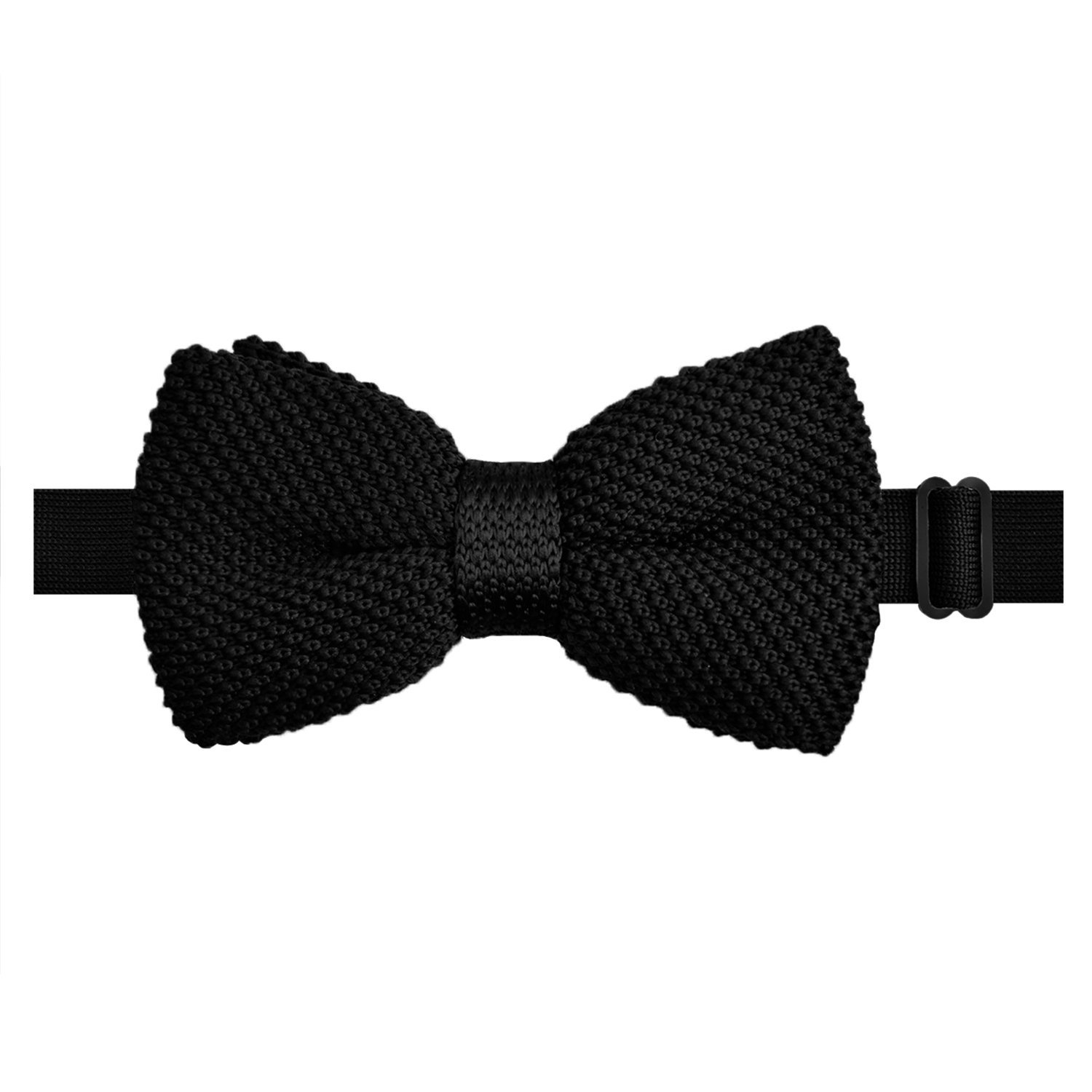 a82c24787646 Men Bow Ties Tuxedo Knitted Bowtie Soild Color Casual Tie, Black(Size: One  Size): Amazon.co.uk: Clothing