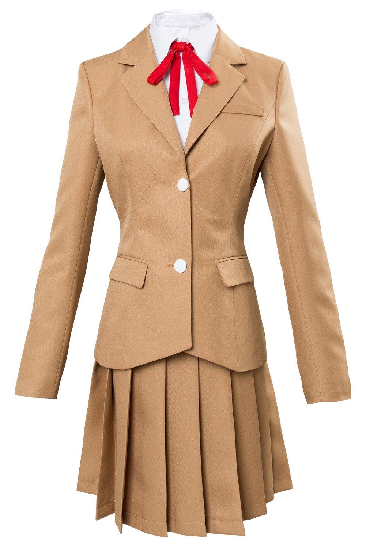 Karnestore Hinamatsuri Hina Yoshifumi Schuluniform Kleid Cosplay Kostüm Damen XS