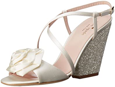 4fe4b4183c52 Amazon.com  Kate Spade New York Women s Ileene Heeled Sandal