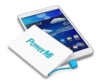 Batería Externa Móvil PowerMi Tamaño Tarjeta de Crédito – Compatible con Samsung Galaxy, iPhone – Cargador Externo Portátil Ultra Delgado y Ligero – ...