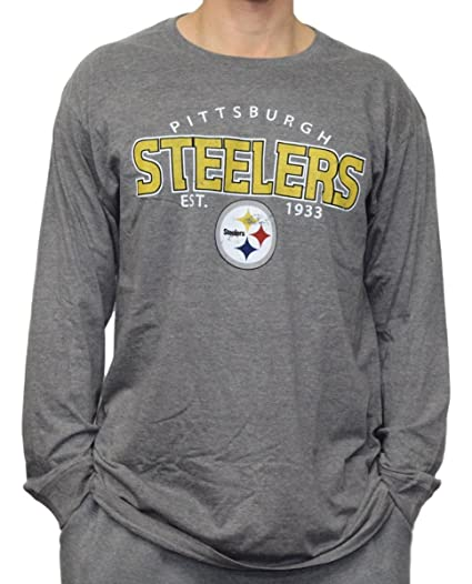 Image Unavailable. Image not available for. Color  Pittsburgh Steelers NFL G -III Playoff Men s Dual Blend L S T-Shirt ab66cb1dc