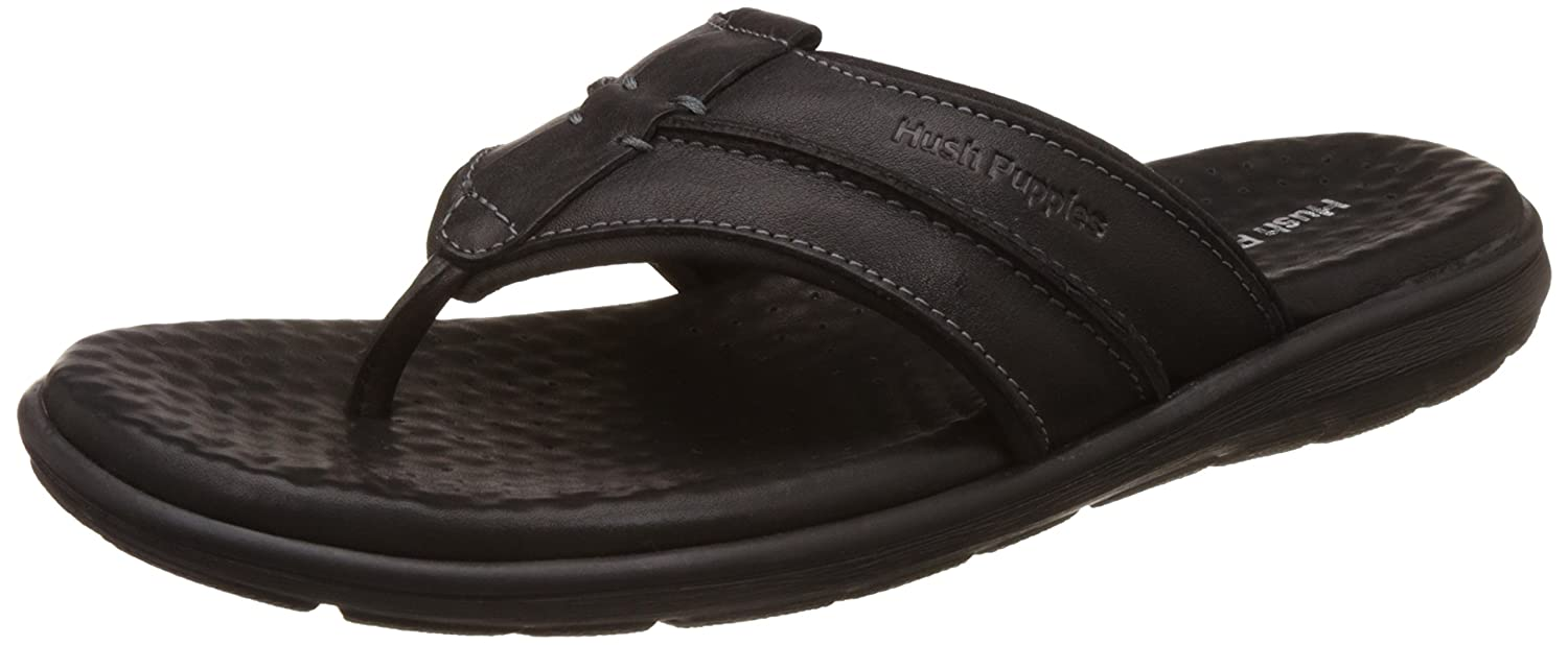 c06a658f9fc32 Hush Puppies Men's Charles Thong Leather Hawaii Thong Sandals: Buy Online  at Low Prices in India - Amazon.in