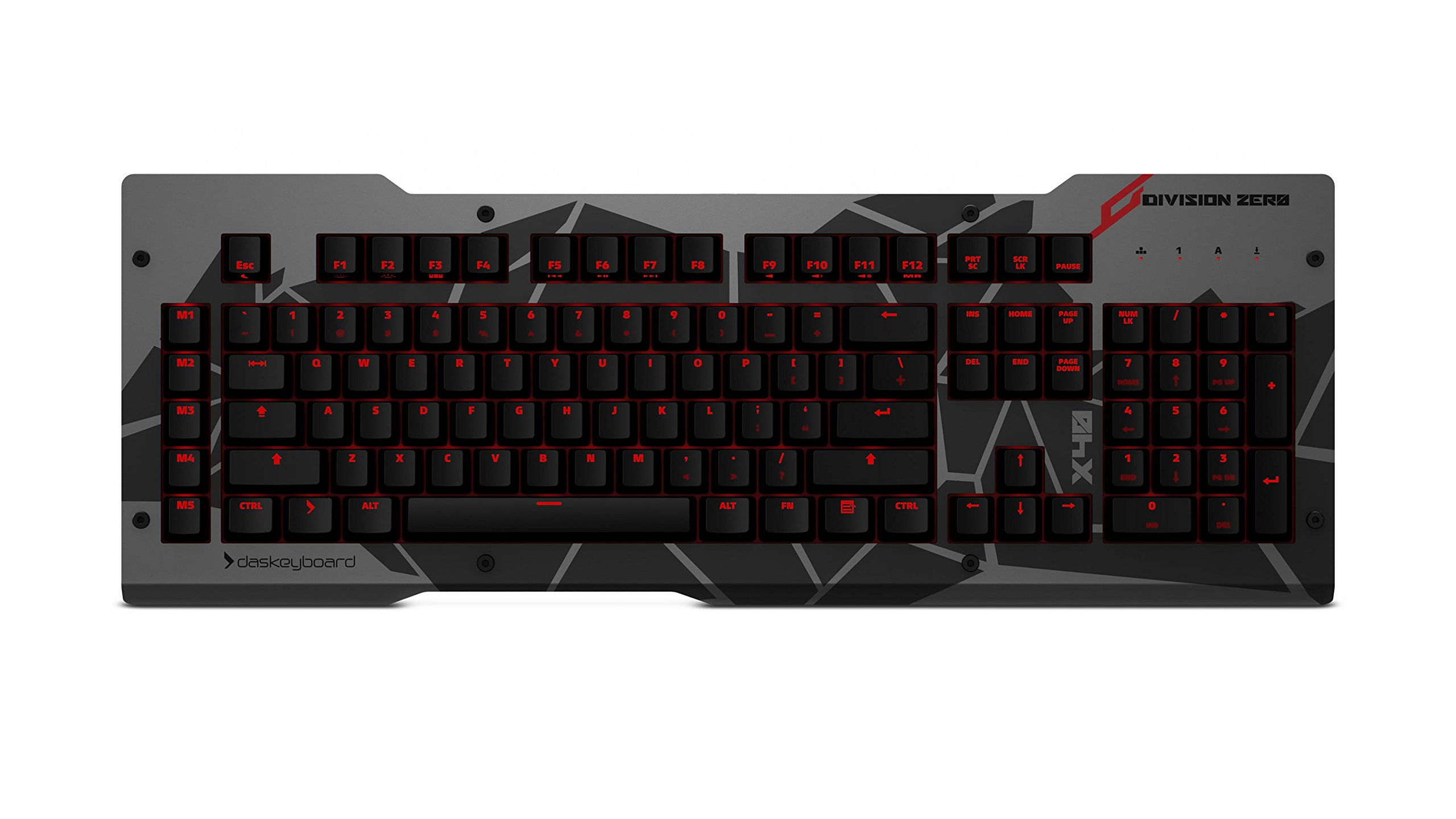 Das Keyboard X40 Non-Clicky Linear Green Mechanical Gaming Keyboard (DKDIVZX40LNR) by Das Keyboard