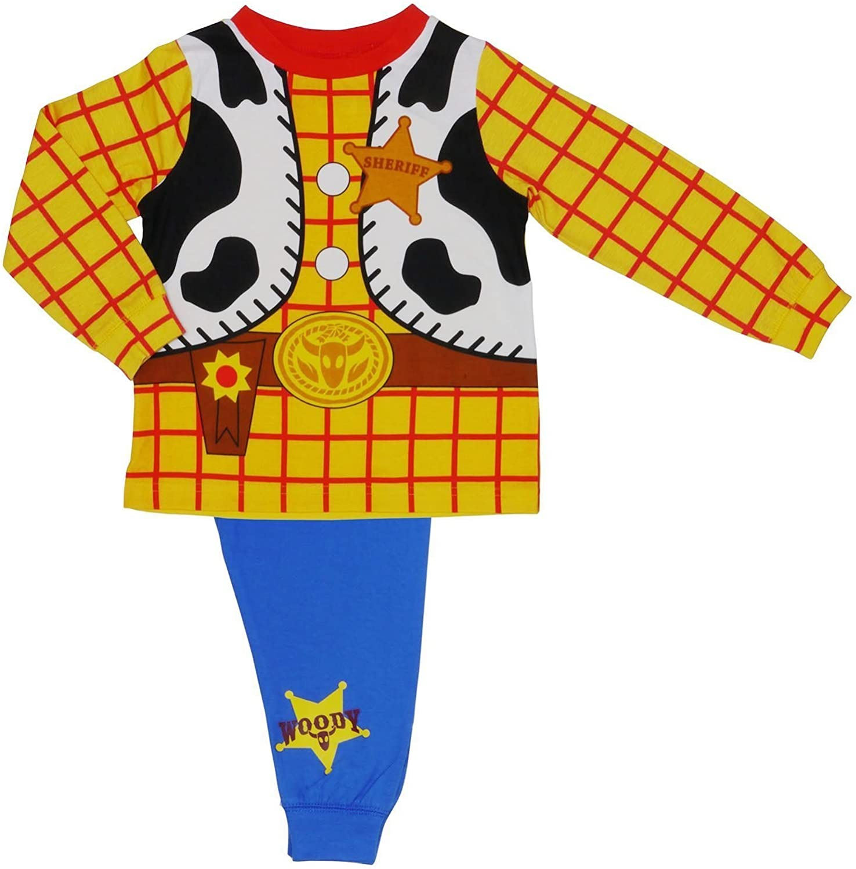 Disney Toy Story Woody Sheriff Vaquero Disfraz Novedad Pijama 18 ...