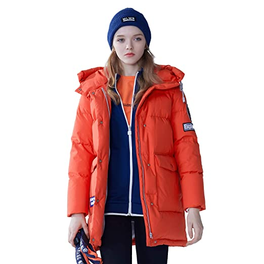 4f45829c7 Amazon.com: BOSIDENG Women's 2018 New Harsh Winter Goose Down Jacket ...
