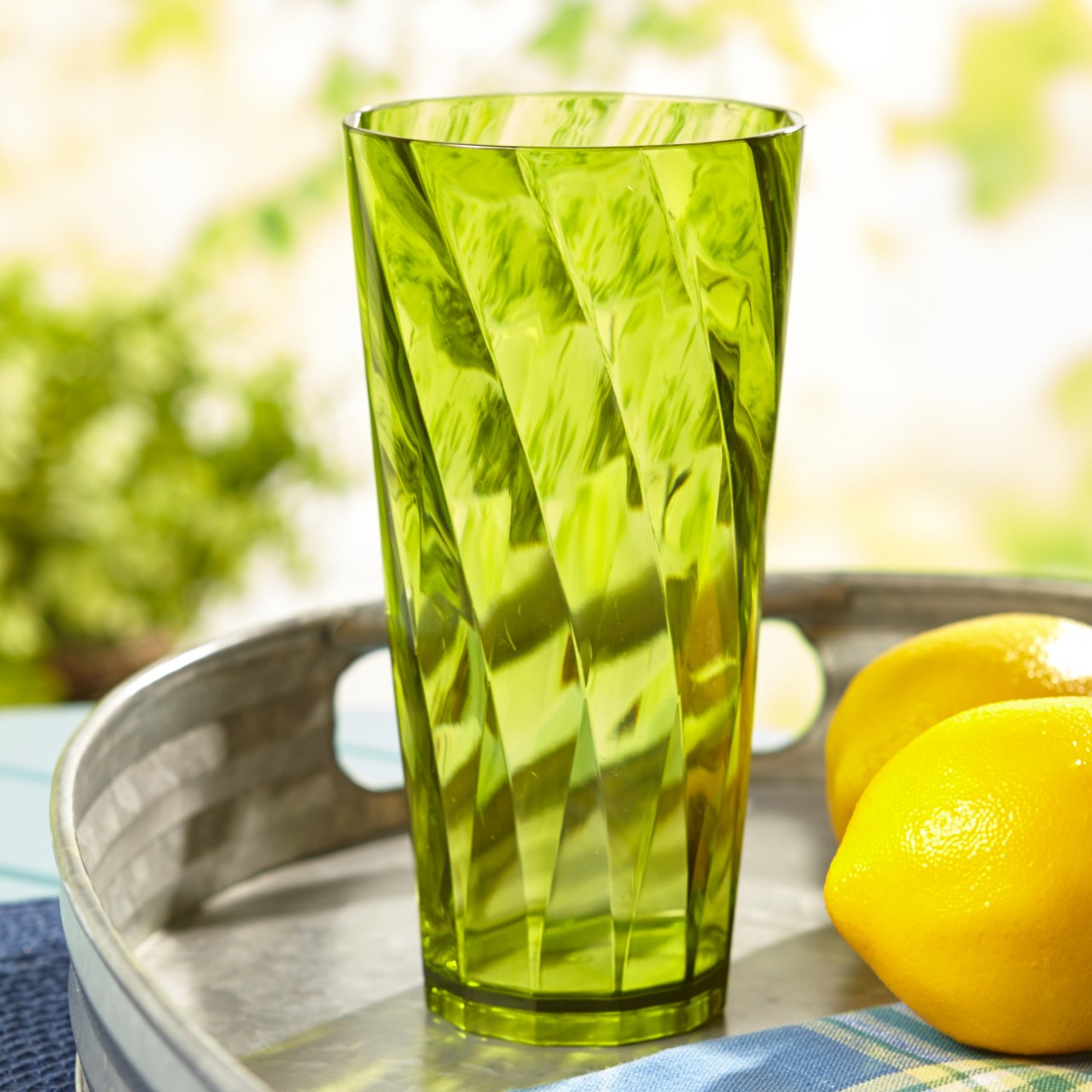 Optix 26-ounce Plastic Tumblers | set of 8 in 4 assorted colors by US Acrylic (Image #7)