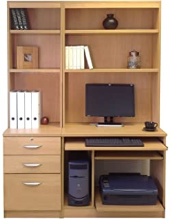 Home Office Computer Desk With Hutch Interior Design